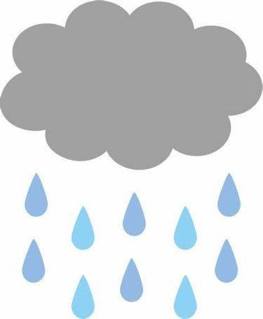 雨が沢山・・・